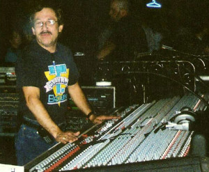 Tim Hines, Sound Engineer and Production Manager.